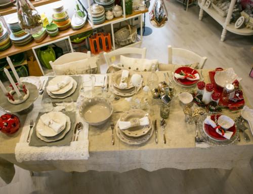 5 consigli per allestire la tavola di Natale